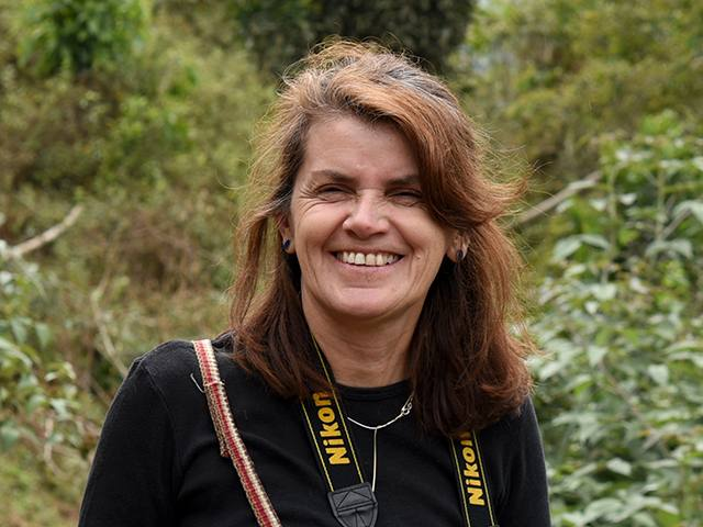 Katya Romoleroux: una de las galardonadas del premio Eugenio Espejo