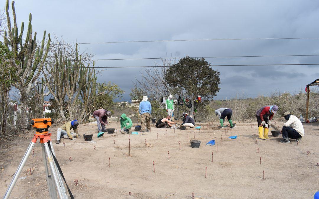 PUCE realiza excavaciones arqueológicas en Ayangue con fondos alemanes