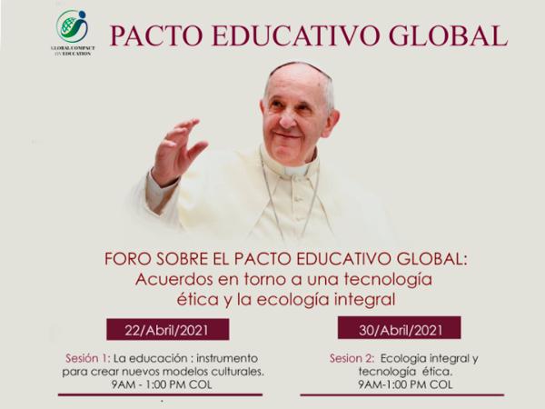 Invitación de ODUCAL para presentación de ponencias en el Foro sobre el Pacto Educativo Global