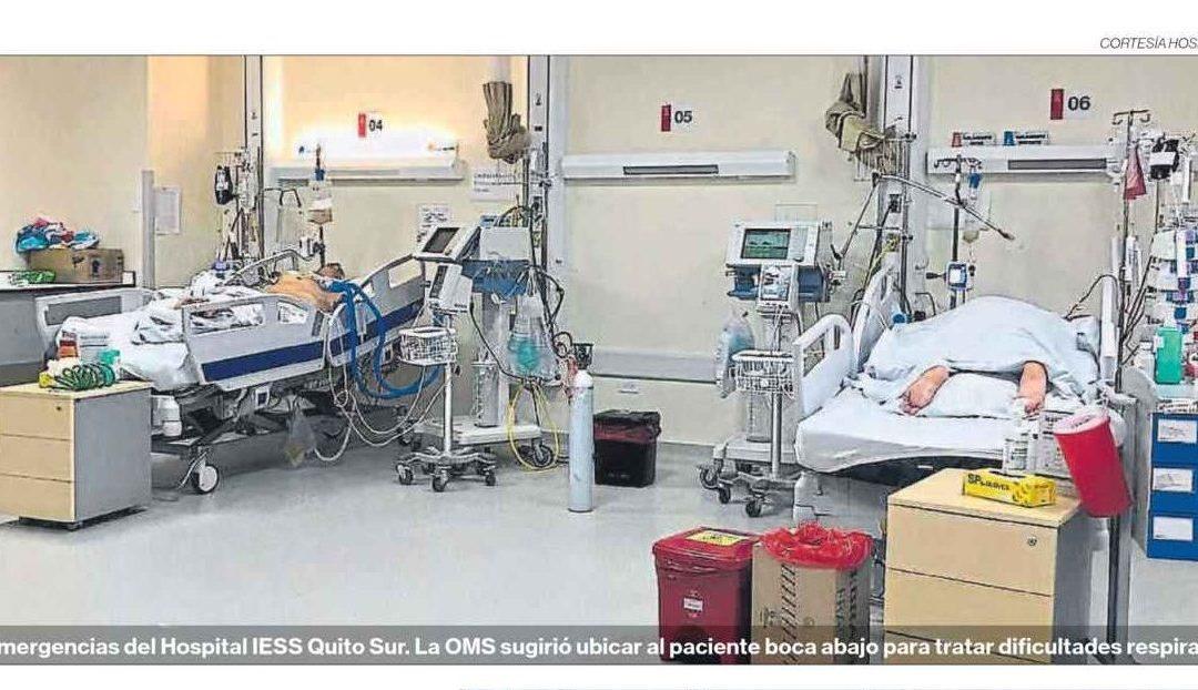 EL COMERCIO: Hospitales adecúan espacios, que se llenan rápidamente