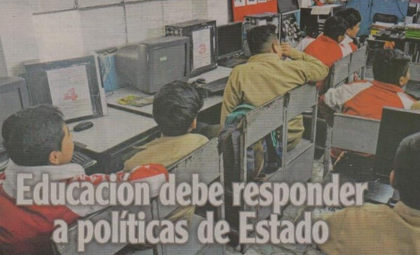 EL HERALDO (AMBATO): Prorrector de PUCESA opina que la educación debe responder a políticas de estado