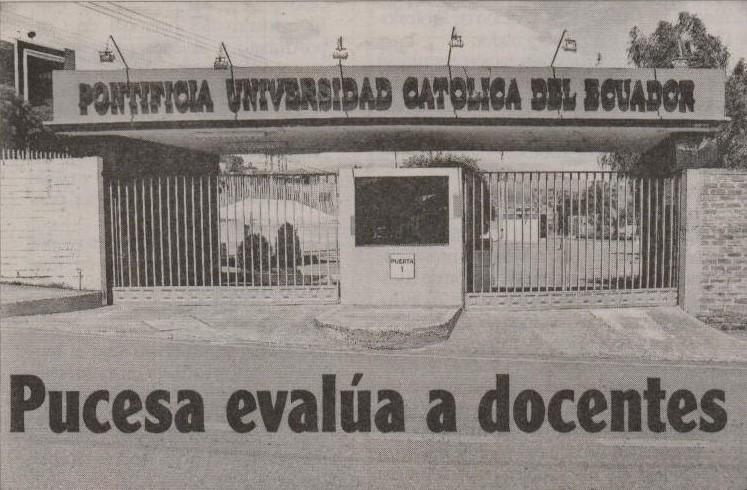 HERALDO (AMBATO): PUCESA evalúa a docentes