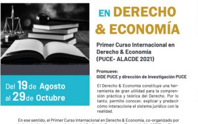 Primer Curso Internacional en Derecho y Economía