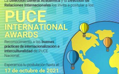 ¡Participa en el PUCE International AWARDS!