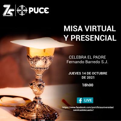 Misa Virtual y Presencial