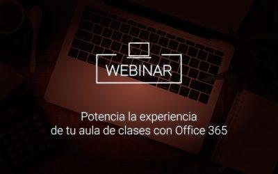 Potencia la experiencia de tu aula de clases con Office 365