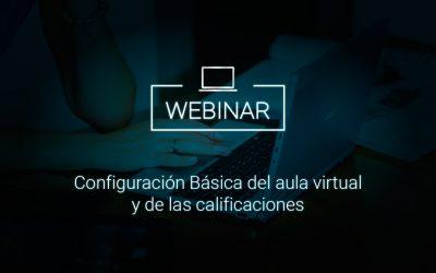 Configuración Básica del aula virtual y de las calificaciones