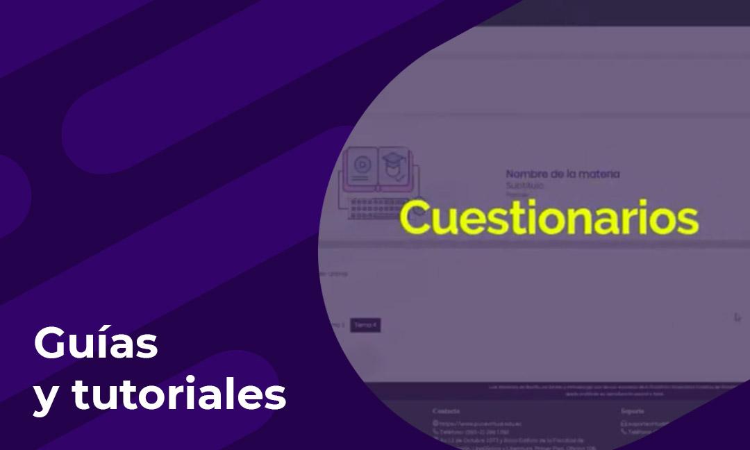 Cómo crear y configurar cuestionarios dentro de su aula virtual