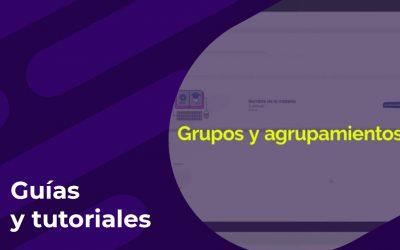 Creación de grupos y agrupamientos