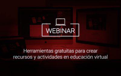 Herramientas gratuitas para crear recursos y actividades en educación virtual