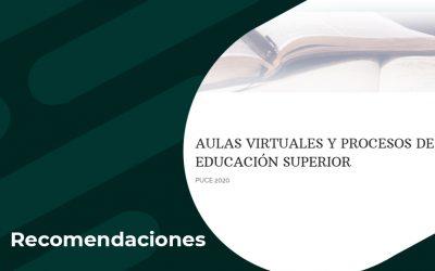 Aulas virtuales y procesos de educación superior