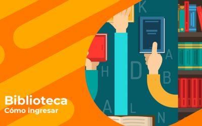 Cómo acceder a la biblioteca – estudiantes