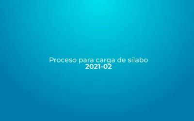 Carga de Sílabo 2021 – 02 – Posgrados